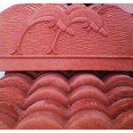 جدول باغچه دلفینی (رنگ قرمز)