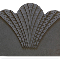 جدول باغچه نیلوفر (رنگ طوسی)